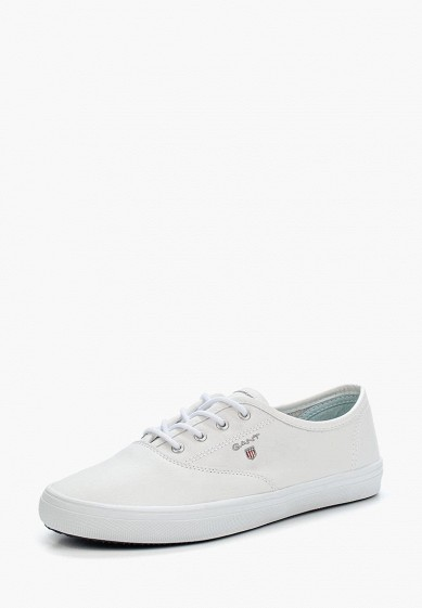 Купить Кеды Gant - цвет: белый, Вьетнам, GA121AWADLD5