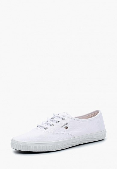 Купить Кеды Gant - цвет: белый, Вьетнам, GA121AWADLD8