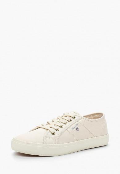 Купить Кеды Gant - цвет: белый, Вьетнам, GA121AWADLF1