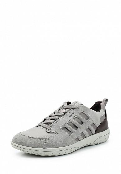 Купить Кроссовки Geox - цвет: серый, Вьетнам, GE347AMADFN4