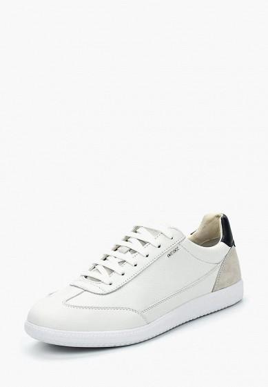 Купить Кроссовки Geox - цвет: белый, Вьетнам, GE347AMADFN7