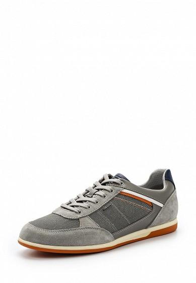 Купить Кроссовки Geox - цвет: серый, Вьетнам, GE347AMADFR3