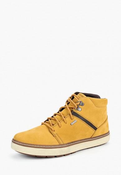 Купить Кеды Geox - цвет: желтый, Вьетнам, GE347AMCBRD0