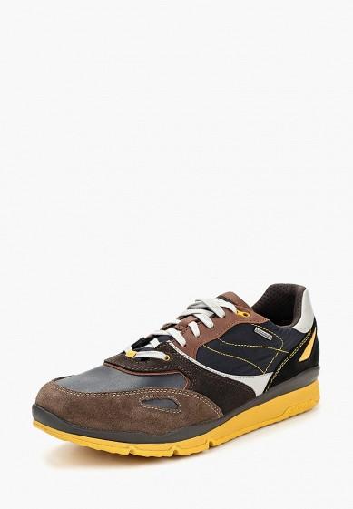 Купить Кроссовки Geox - цвет: коричневый, Вьетнам, GE347AMCBRE3
