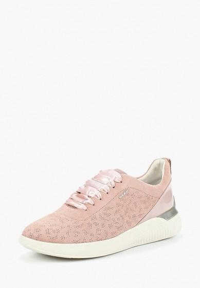 Купить Кроссовки Geox - цвет: розовый, Вьетнам, GE347AWADCP7
