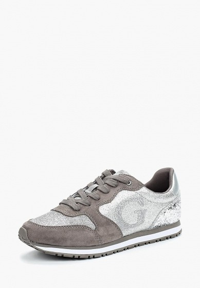 Купить Кроссовки Guess - цвет: серебряный, Вьетнам, GU460AWZTV87