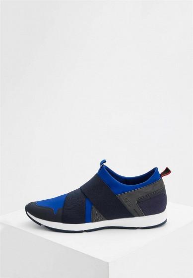 Купить Кроссовки Hugo Boss - цвет: синий, Китай, HU286AMYTL93