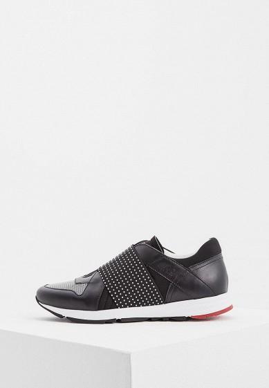 Купить Кроссовки Hugo Boss - цвет: черный, Италия, HU286AWBJCH1