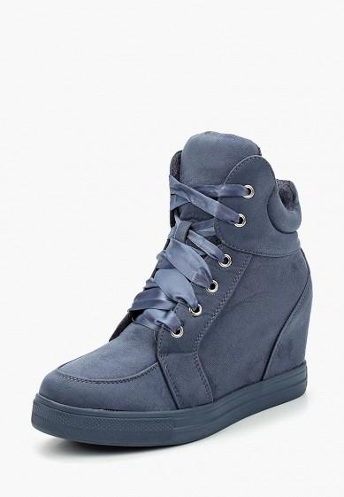 Купить Кеды на танкетке Ideal Shoes - цвет: синий, Китай, ID007AWYRA26