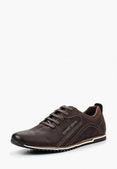 Купить Кроссовки Instreet - цвет: коричневый, Китай, IN011AMPQY09