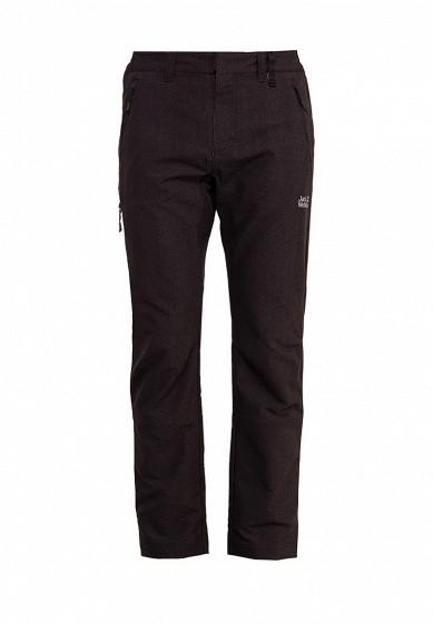 Купить Брюки спортивные Jack Wolfskin - цвет: черный, Вьетнам, JA021EMWHY47