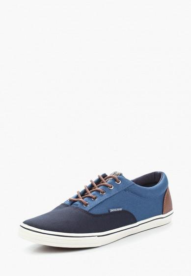 Купить Кеды Jack & Jones - цвет: синий, Китай, JA391AMAFVC5
