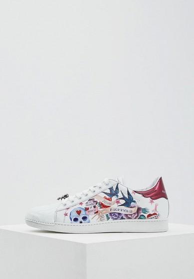 Купить Кеды John Richmond - цвет: белый, Италия, JO003AWAEQF4