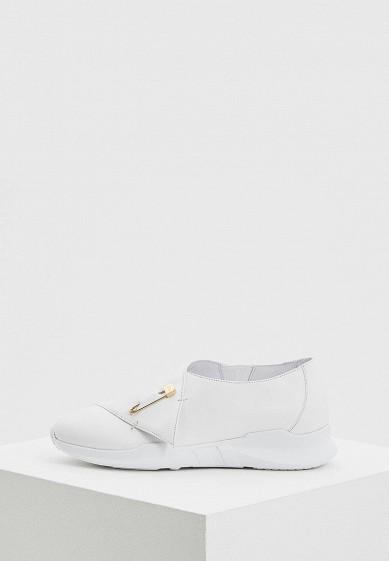 Купить Кроссовки John Galliano - цвет: белый, Италия, JO658AWAEQB6