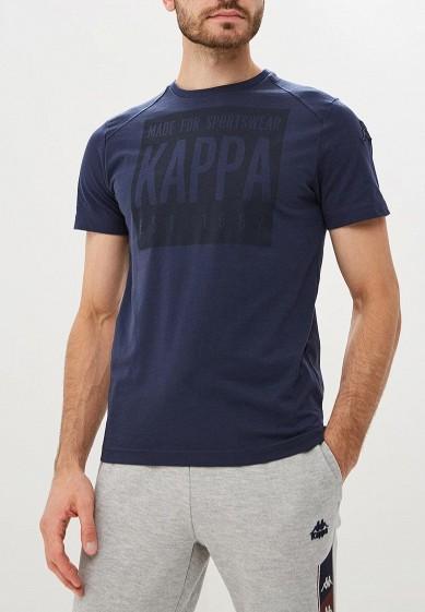 Купить Футболка спортивная Kappa - цвет: синий, Бангладеш, KA039EMCPRS1