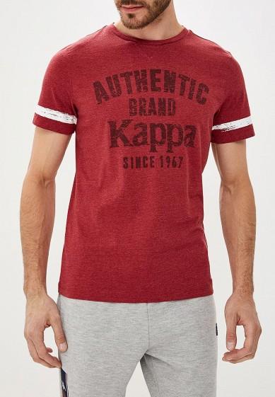 Купить Футболка спортивная Kappa - цвет: бордовый, Бангладеш, KA039EMCPRT4