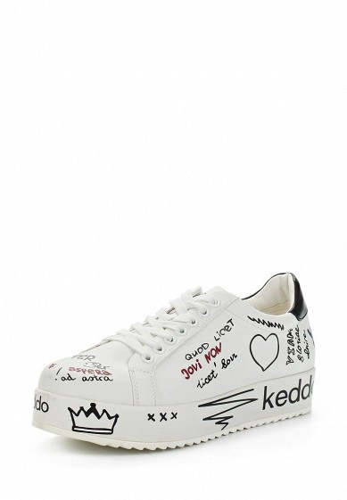 Купить Кеды Keddo - цвет: белый Китай KE037AWAPXW6
