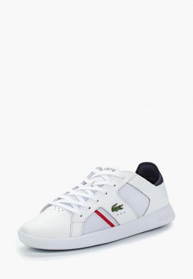 Купить Кеды Lacoste - цвет: белый, Таиланд, LA038AMADKE5