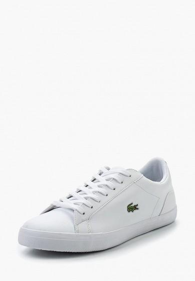 Купить Кеды Lacoste - цвет: белый Таиланд LA038AMPZL43