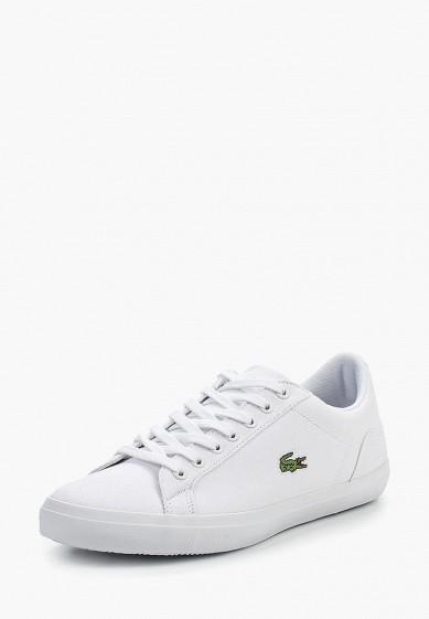 Купить Кеды Lacoste - цвет: белый, Таиланд, LA038AMPZL46