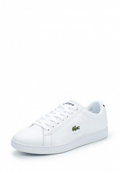Купить Кеды Lacoste - цвет: белый Вьетнам LA038AMXDI26