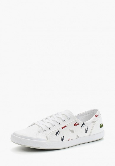 Купить Кеды Lacoste - цвет: белый, Вьетнам, LA038AWADKM7