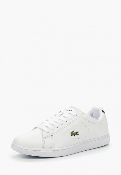Купить Кеды Lacoste - цвет: белый, Вьетнам, LA038AWKYX99