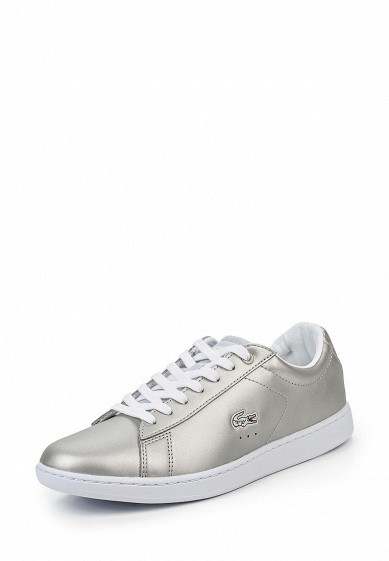 Купить Кеды Lacoste - цвет: серый, Китай, LA038AWPZN91