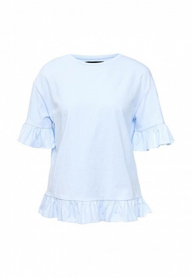 Футболка LOST INK S) FRILL TRIM TEE