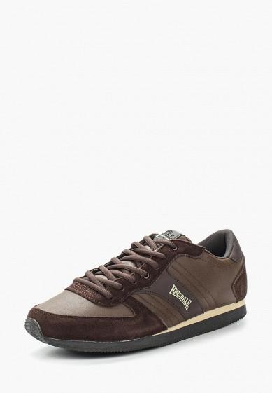 Купить Кроссовки Lonsdale - цвет: коричневый, Китай, LO789AMCAO48