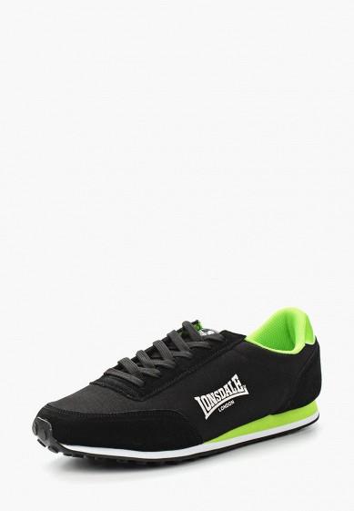 Купить Кроссовки Lonsdale - цвет: черный, Китай, LO789AMCAO77