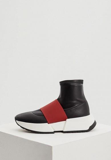 Купить Кроссовки MM6 Maison Margiela - цвет: черный, Италия, MM004AWBRJS8