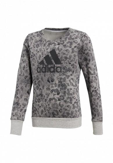 Купить Свитшот adidas - цвет: серый, Камбоджа, MP002XG008G5