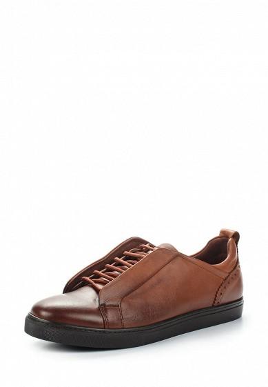 Купить Кеды Freccia - цвет: коричневый Турция MP002XM0YF0U