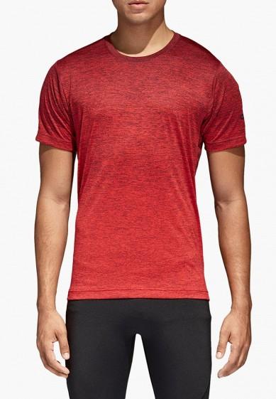 Купить Футболка спортивная adidas - цвет: красный, Филиппины, MP002XM0YH3Q