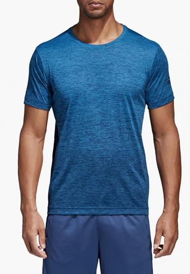 Купить Футболка спортивная adidas - цвет: синий, Филиппины, MP002XM0YH3S