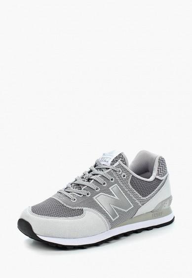 Купить Кроссовки New Balance - цвет: серый, Вьетнам, NE007AMBMNY2
