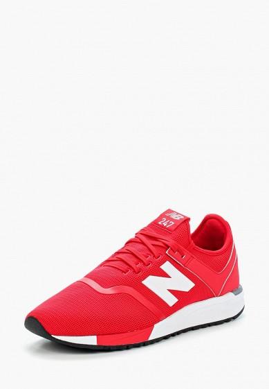 Купить Кроссовки New Balance - цвет: красный, Китай, NE007AMBMNY4