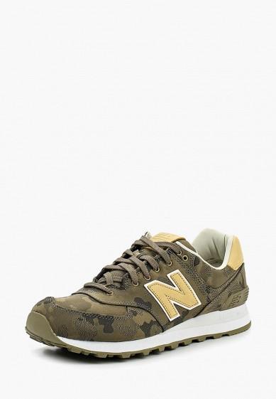 Купить Кроссовки New Balance - цвет: хаки, Индонезия, NE007AMPDJ83