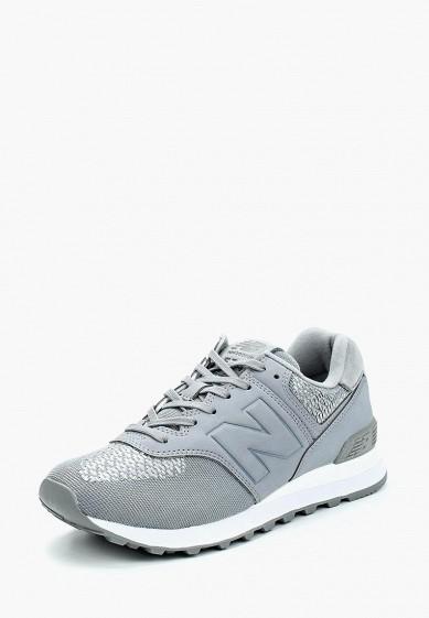 Купить Кроссовки New Balance - цвет: серый, Вьетнам, NE007AWABGU3