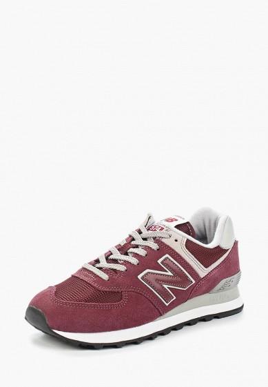 Купить Кроссовки New Balance - цвет: бордовый, Индонезия, NE007AWAGGF6