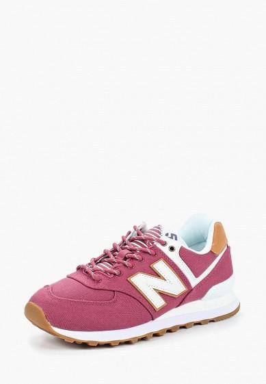 Купить Кроссовки New Balance - цвет: бордовый, Вьетнам, NE007AWAGGG1