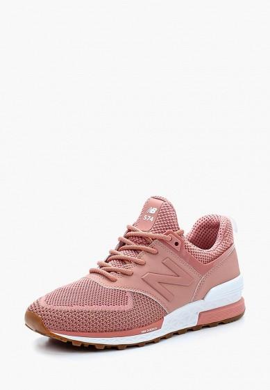 Купить Кроссовки New Balance - цвет: коралловый, Вьетнам, NE007AWAOYM9
