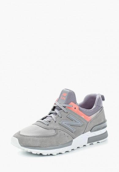 Купить Кроссовки New Balance - цвет: серый, Вьетнам, NE007AWASIP5