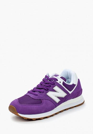 Купить Кроссовки New Balance - цвет: фиолетовый, Индонезия, NE007AWBLPJ0