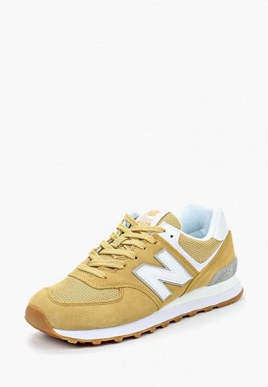 Купить Кроссовки New Balance - цвет: желтый, Вьетнам, NE007AWBMNY9