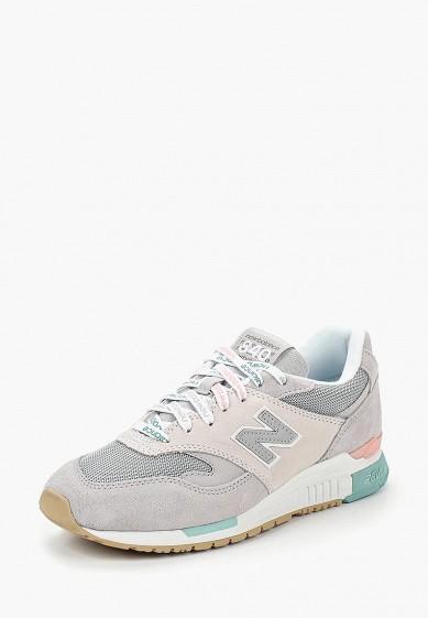 Купить Кроссовки New Balance - цвет: серый, Китай, NE007AWBZQM9