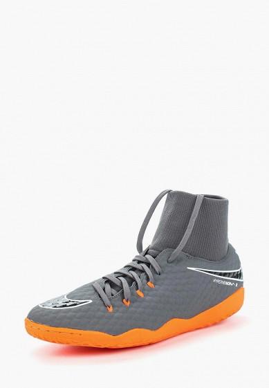 Купить Бутсы зальные Nike - цвет: серый, Индонезия, NI464AMAAPG2
