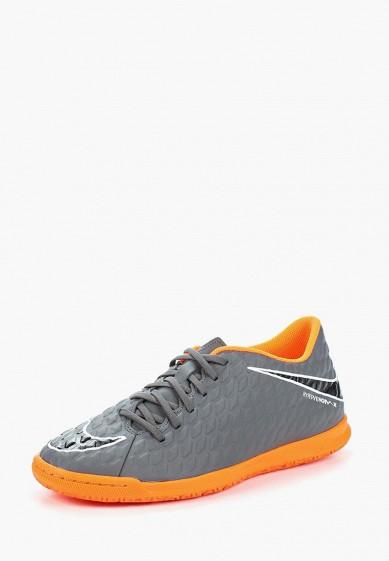 Купить Бутсы зальные Nike - цвет: серый, Вьетнам, NI464AMAAPG7