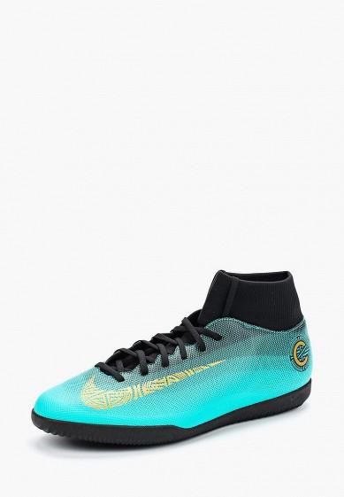 Купить Бутсы зальные Nike - цвет: зеленый, Вьетнам, NI464AMBBNN8